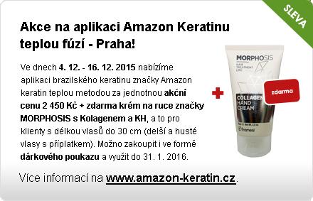 Akce na sérum Amazon Keratinu