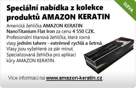 Speciální nabídka z kolekce produktů AMAZON KERATIN
